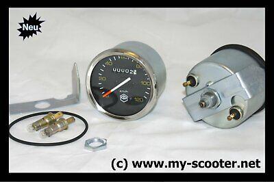 Vespa Tachometer Tacho Speedo Tachoglas Ziffernblatt Tachonadel PX 80 125 150 E