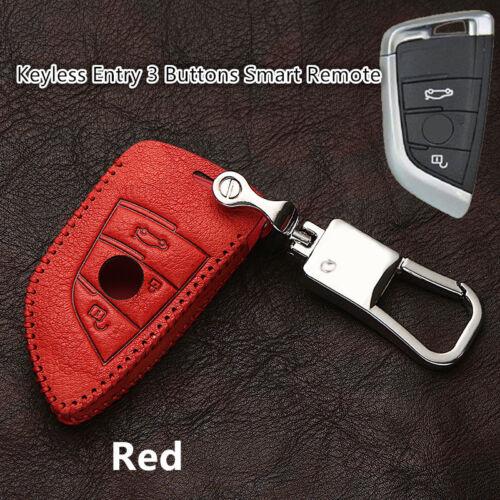 Car Remote Key Fob Holder Chain Case FOR BMW X1 F48 2016-2018// 1 Series 08-11