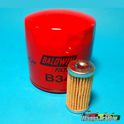 FLK3517 Oil Fuel Filter Kit Ford 1710 1520 1720 Compact Tractor by IHI Shibaura
