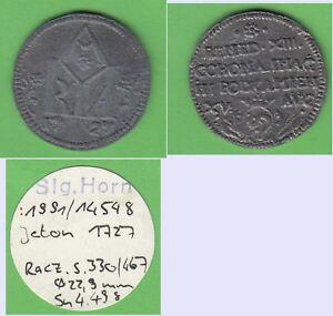 Jeton-1727-Polen-aus-Slg-Horn-Zinnabguss-cc5-stampsdealer