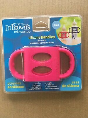Brown/'s Narrow Neck Silicone Handles Dr Pink Free Shipping!
