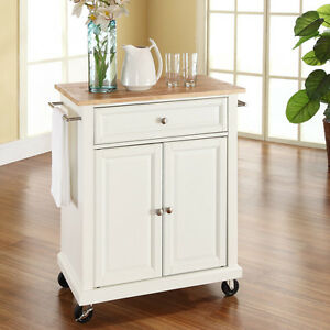 Superb Details About White Slim Kitchen Island Cart Wood Top Home Living Dining Storage Furniture Short Links Chair Design For Home Short Linksinfo