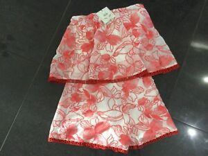 Pagliaccetto X Small Pink Uk 6 Lace senza NewGenSignore Nwt Foxiedox maniche 8 Red c3KuTlF51J