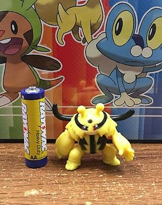 """2/"""" Electivire #466 Pokemon Action Figures Figurines Toys 4th Series Generation 4"""