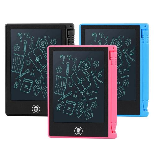 """4.5/"""" inch LCD Paperless Memo Pad Tablet Writing Drawing Graphics Board Notepad"""