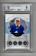 2016-17 Black Diamond Quad Relic Auston Matthews Maple Leafs RC 90/99 BGS 9 MINT
