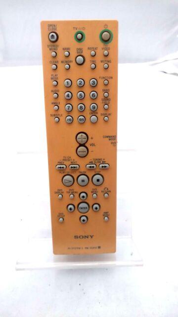 SONY AV System 3 Authentic OEM Remote RM-SS450 FOR DAV-C450D, AV-S300H, CD-C450