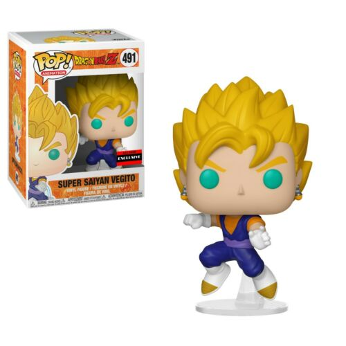 NEAR Comme neuf Funko POP Dragon Ball Z Super Saiyan Vegito Vinyl Figure aaa anime