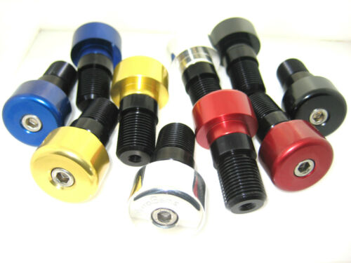 Yamaha R6 Billet alloy bar ends with adaptors to suit R6 1999 to 2005
