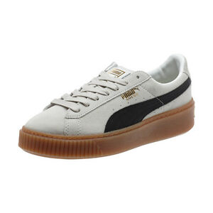 603c584b25d Women s Suede Platform Core White   363559-01   Puma Black Whisper ...