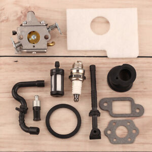 Carburetor For Stihl 017,018 MS170,MS180 Parts Carb Chainsaw Air Fuel Filter-Kit