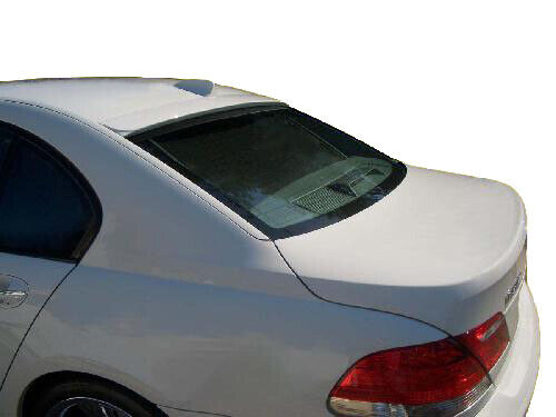 Factory Style Flush Mount Rear Roof Unpainted Spoiler Fits 02-08 BMW 7 Series