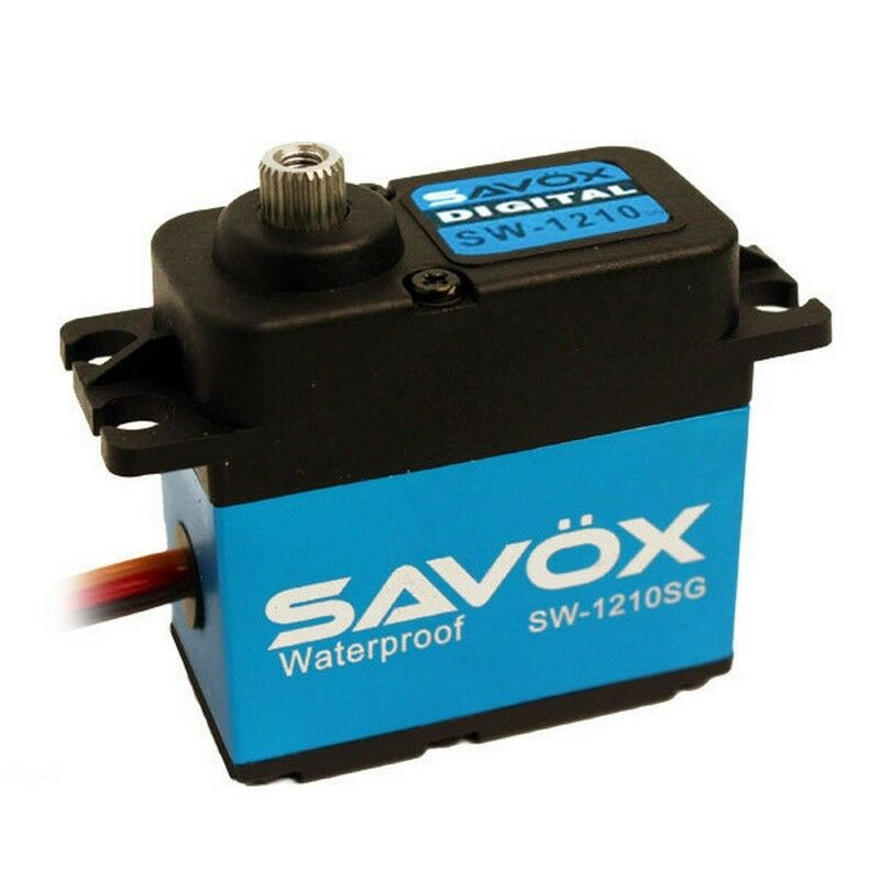 Savox SW-1210SG Impermeable Digital Servo Coreless .15 277.7 Caja de Aluminio