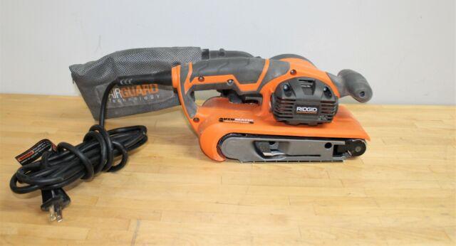 BRAND NEW !!!!!! RIDGID R86065B 18v CORDLESS BRUSHLESS BELT SANDER W// DUST BAG