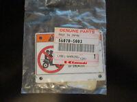 Kawasaki No Pass Warning Label 2003-2006 Ksf50 56070-s003