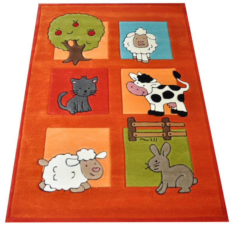 Enfants tapis ferme 160x220 cm 3266-02