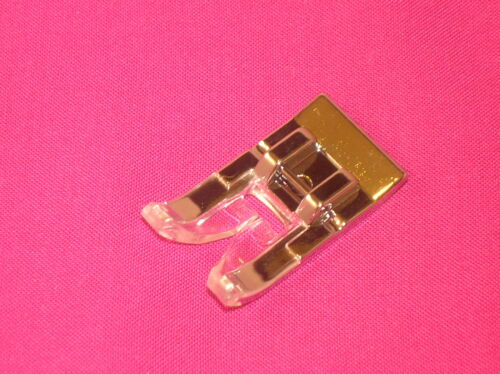 Zickzack Seide Stich Stickereien Fuß Schnapp auf 7MM Nähmaschine Fuß