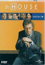 COFFRET 6 DVD ZONE 2--SERIE TV--DR.HOUSE - INTEGRALE SAISON 2 / 24 EPISODES