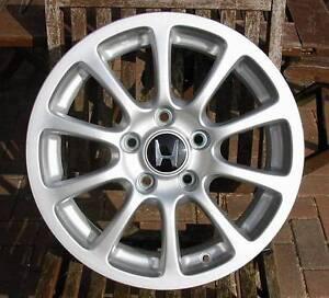 Honda-16-034-10-Spoke-Alloy-Wheel-May-Fit-Civic-Accord-Jazz-etc-Brand-New-No-2