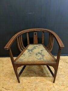 Antique-Edwardian-Mahogany-Inlaid-Tub-Chair-00013