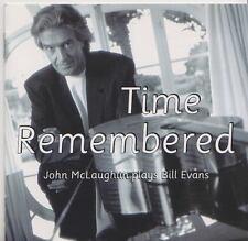 JOHN MCLAUGLIN  PLAYS BILL EVANS   CD TIME REMEMBERED