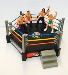 New-Toy-Wrestling-Ring-with-4-Figures-Total-NonStop-Action-Crash-amp-Bash-Play-Set