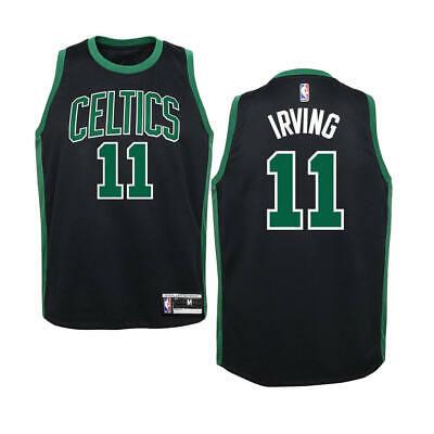 pretty nice 10fe5 39003 KIDS Sizes 4-7 KYRIE IRVING Boston Celtics Black Basketball Jersey | eBay