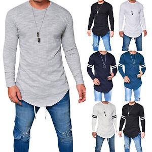 Men-039-s-Fashion-Slim-Fit-Casual-Shirt-T-Shirt-Long-Sleeve-Tee-Shirts-Tops-Blouse