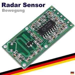 Radar-Sensor-Bewegungsmelder-Mikrowelle-Microwave-Arduino-Raspberry-Pi-RCWL-0516