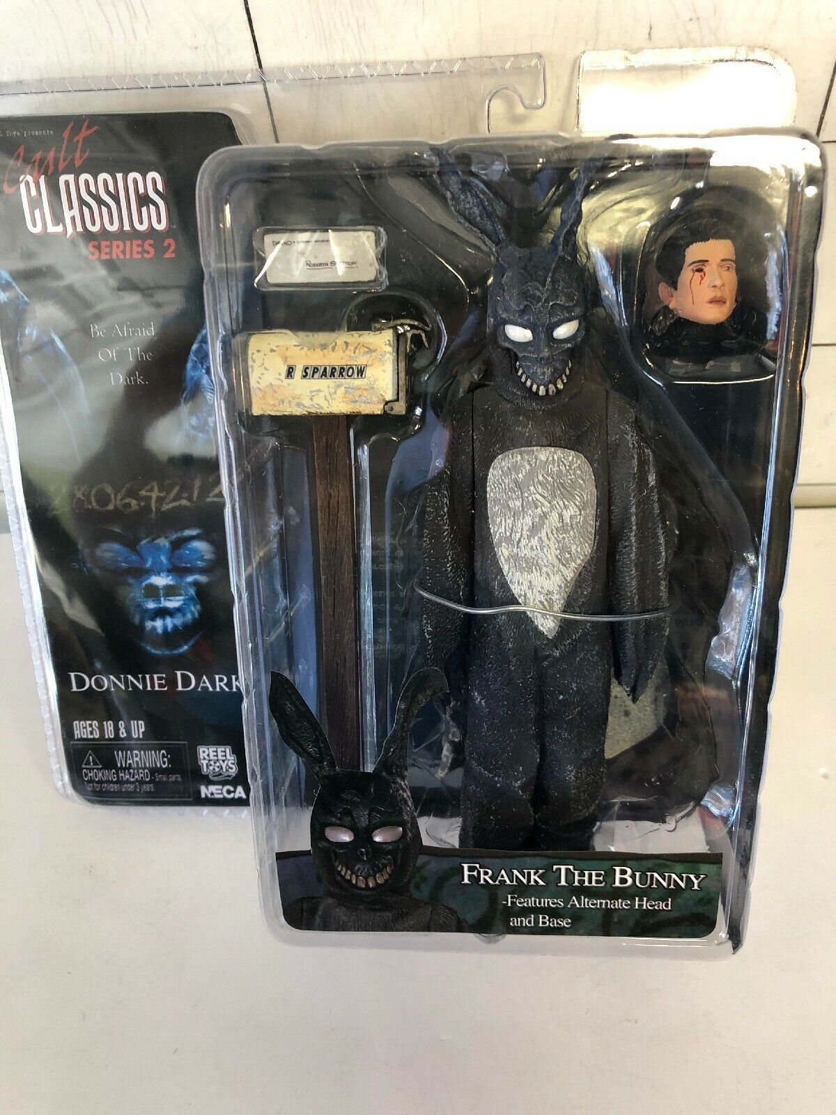 NECA Cult Classics Series 2 Frank The Bunny Donnie Darko Action Figure SEALED