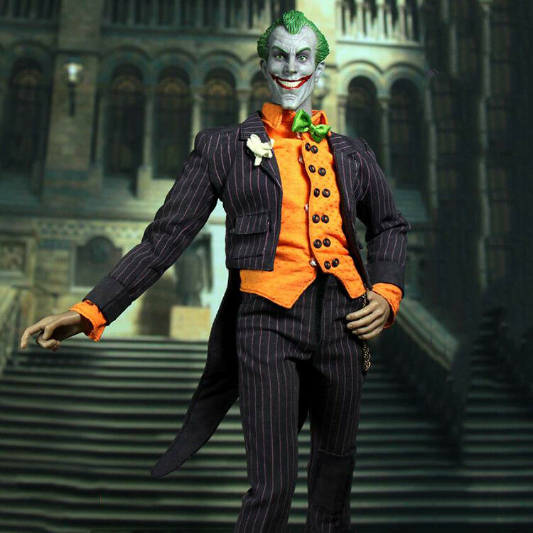 Hot 1 6 escala Joker Figura BBK Comic un payaso BBK002 12  Juguete