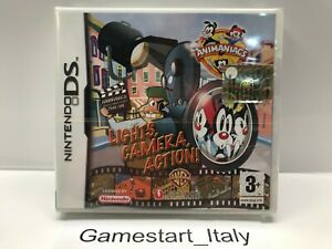 Animaniacs-characters-Lights-Camera-Action-Nintendo-DS-Game-NEW-SEALED-PAL