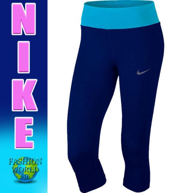 f15cfc63b8bf Nike Women's Size 3XL Power Essential Crop Capri Pants 870189 429 Blue/Lt  Blue