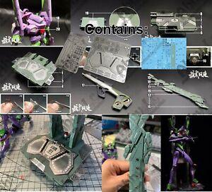 for RG EVA Evangelion Unit 01 DX Transport Platform AW9 Photo Etched Set Decal