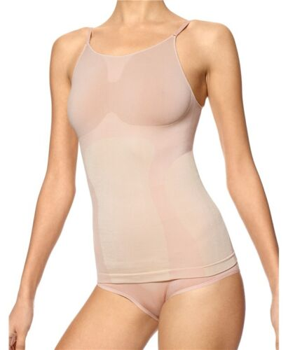 MSRP $36 HUE U17316 Ballet Beige Made to Move Seamless Shaping Cami