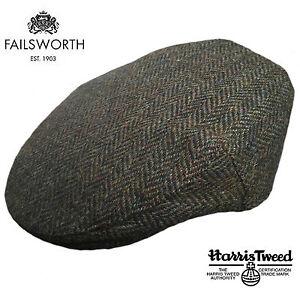 Image is loading Failsworth-Stornoway-Brown-Green-Harris-Tweed-Peaky- Blinders- d80d781f796