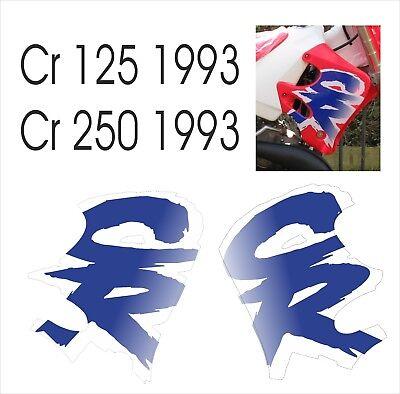 Adesivi in kristal HONDA CR 125-250 1993