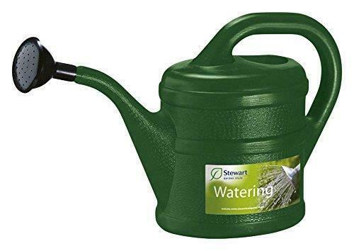 2L Garden Essential Watering Can Indoor Outdoor Watering Can With Rose - GREEN