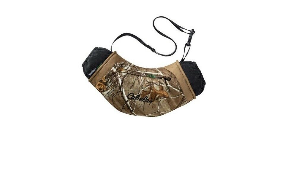 Cabela's MT050 Extreme Calientamanos Muff 600 Gr Thinsulate Realtree II Xtra camuflaje