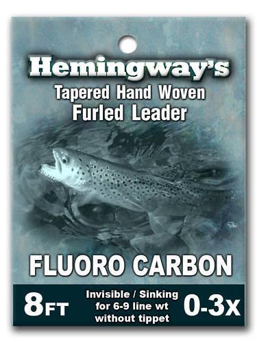 Hemingway/'s Fluorocarbon Furled Leader 6-9wt