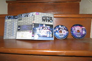 Doctor-Who-The-Chase-2-X-Disque-Special-Ed-Parfait-Etat-Dr-Who-Hartnell