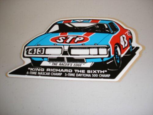 VINTAGE RICHARD PETTY STP STICKER DECAL NASCAR RACING DAYTONA 500 43 TOOLBOX NEW