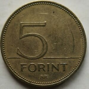 Hungary 2002 5 Forint coin