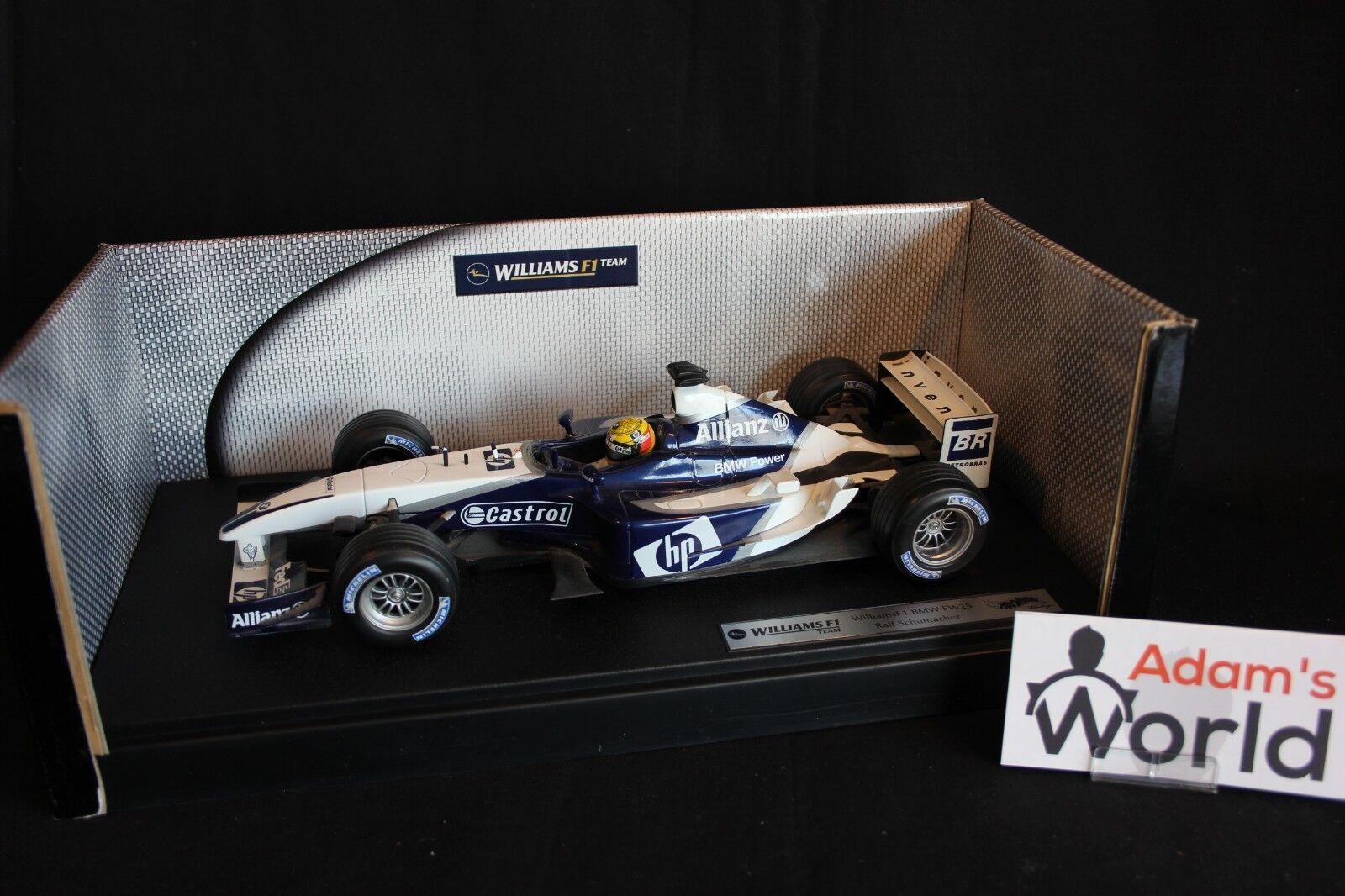 Hot Wheels Williams BMW FW25 2003 1 18 Ralf Schumacher (GER)