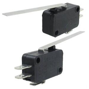 Interruptor-micro-momentaneo-NC-NO-basic-o-de-3-pines-de-palanca-de-bisagra-W2Q6