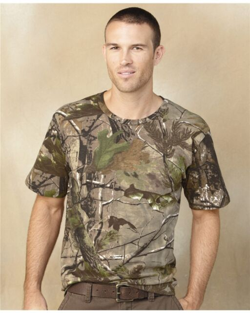 Code V - Realtree® Camouflage Short Sleeve T-Shirt - 3980