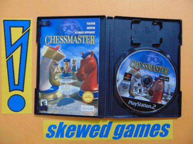 Chessmaster - Chess Master - cib - PS2 PlayStation 2 Sony