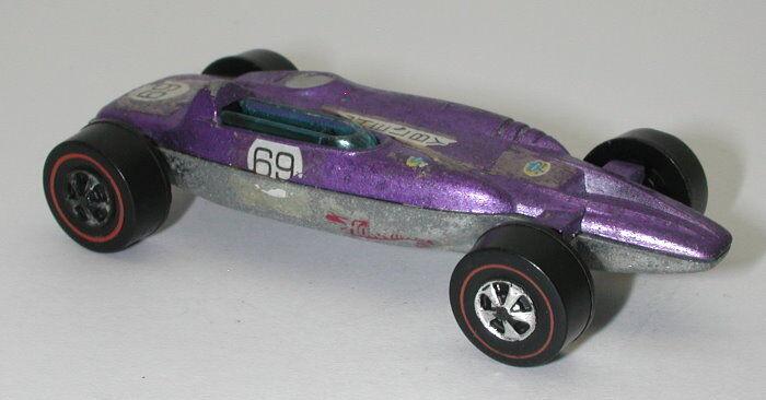 Redline Redline Redline Hotwheels Purple 1969 Shelby Turbine oc14566 587f8b
