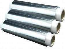 8 X Rollen Aluminiumfolie 12my 30cm x 150m Silber Folie Alu Folie EXTRA STARK