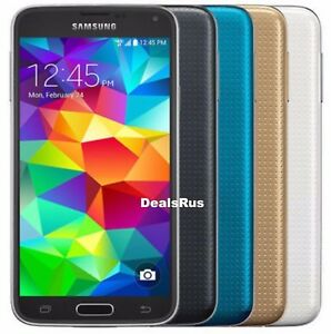 Samsung-Galaxy-S5-SM-G900V-16GB-Verizon-AT-amp-T-T-Mobile-GSM-UNLOCKED-CellPhone